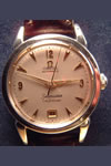 omega seamaster stainless steel wristwatch