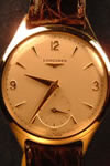 Longines manual 9ct gold watch