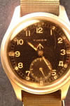 timor military chrome watch