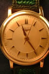 9ct Gold Longines watch