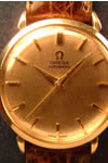 omega automatic 9ct gold watch