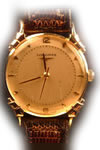Longines manual 14ct gold watch