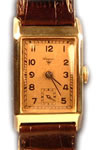 Wagner manual 14ct gold watch