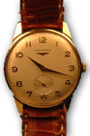 Longines 9ct gold manual watch