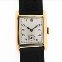 Unsigned 9ct Gold Watch