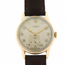 JW Benson 9ct Gold Watch