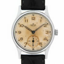 smiths de luxe chrome and steel wristwatch