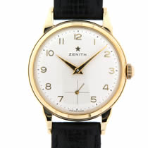 zenith gold watch