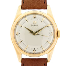 omega 9ct gold watch