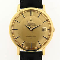 Omega constallation 18ct gold watch