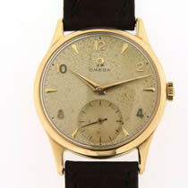 Omega 9ct Gold Wristwatch