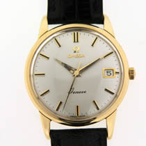 Omega 9ct Gold Geneve Watch