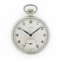 longines manual pocket watch