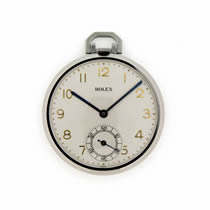 rolex manual pocket watch