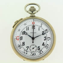 Football timer pocket watch