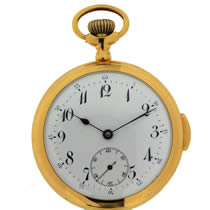 quarter repeating pocket watch