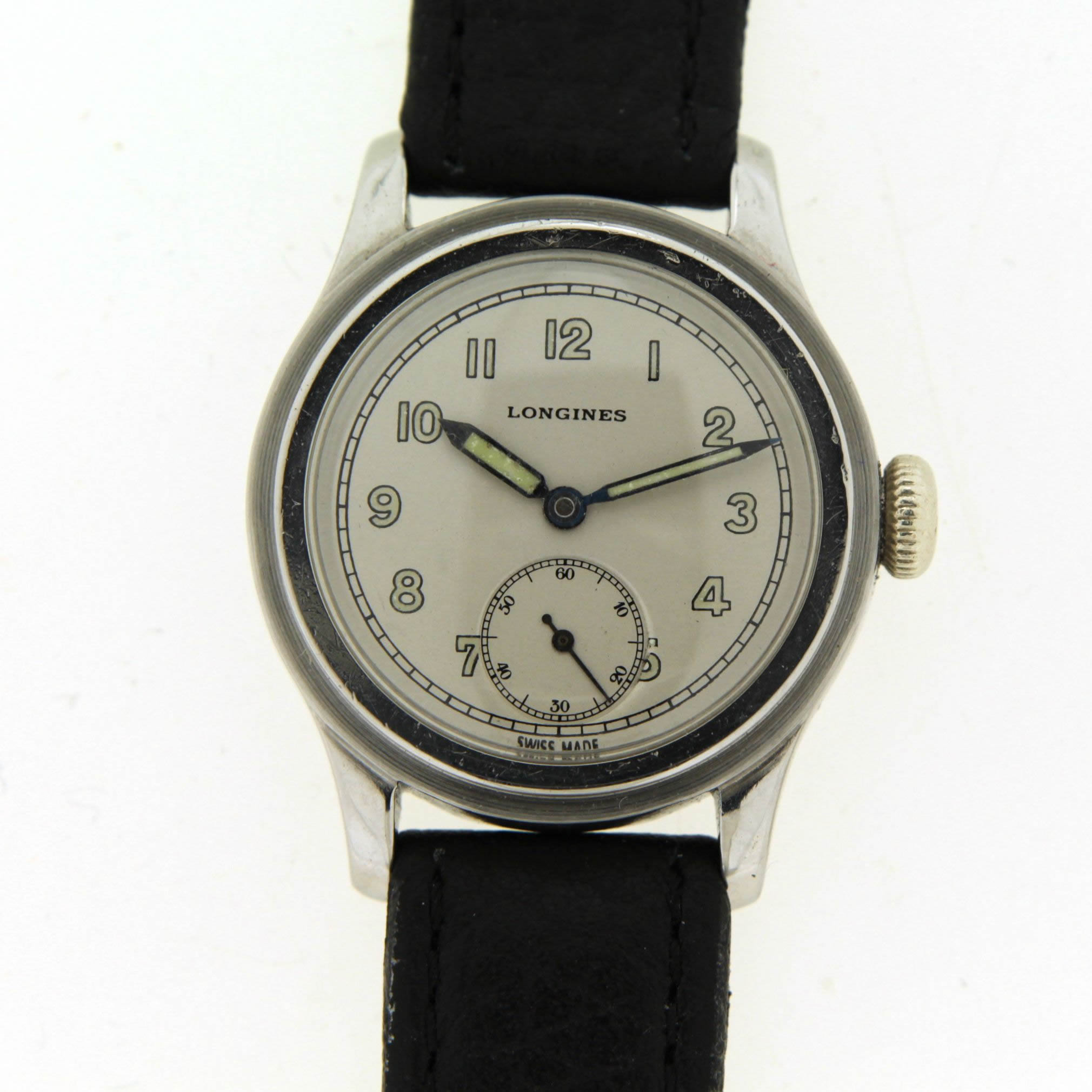 longines watch dial picture
